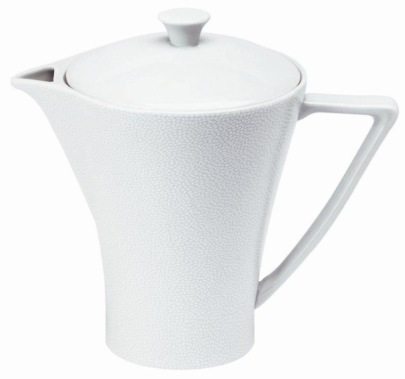 Philippe Deshoulieres Seychelles white coffee/tea pot