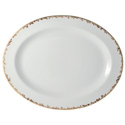 Bernardaud Capucine Oval Platter - 15 In