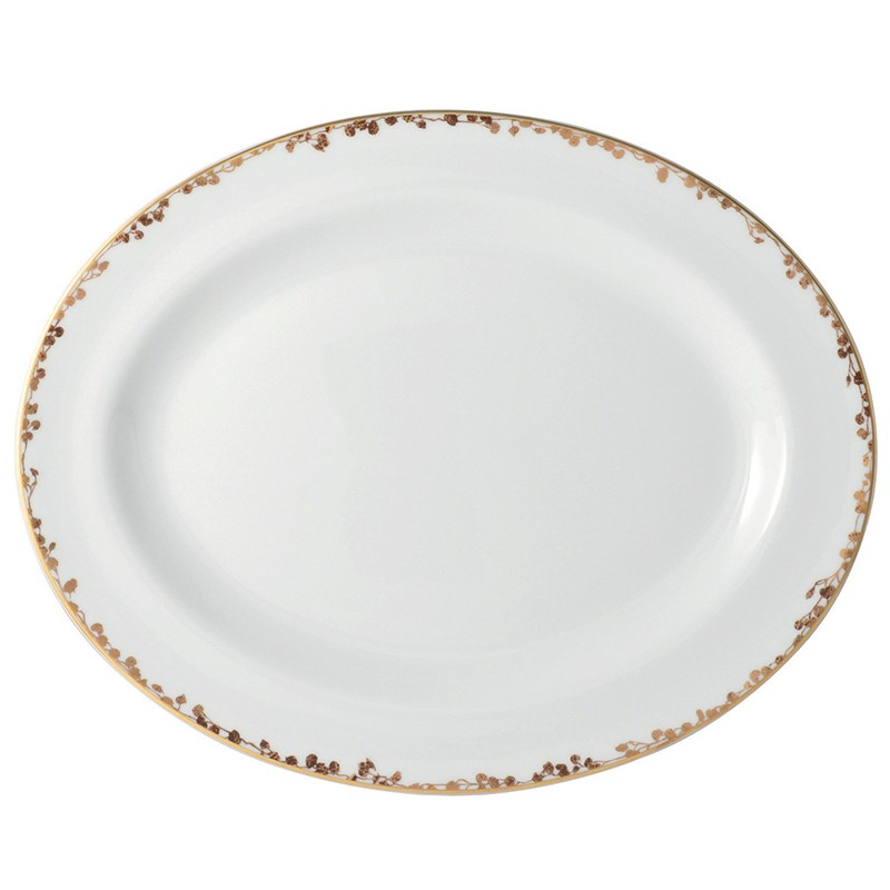 Bernardaud Capucine Oval Platter - 13 In