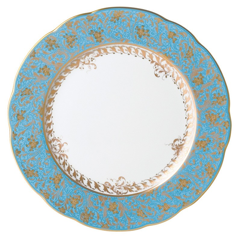 Bernardaud Eden Turquoise Dinner Plate - 10.2 In