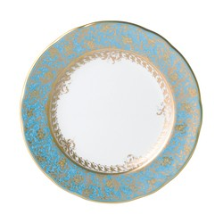 Bernardaud Eden Turquoise Bread & Butter Plate - 6.3 In