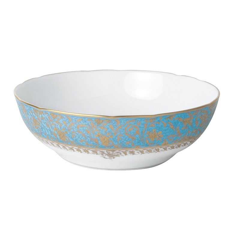 Bernardaud Eden Turquoise Open Vegetable Bowl