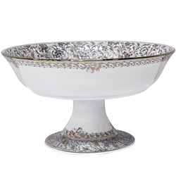 Bernardaud Eden Platinum FOOTED COUPE