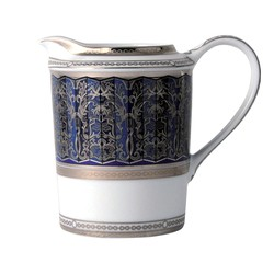 Bernardaud Eventail Blue Creamer