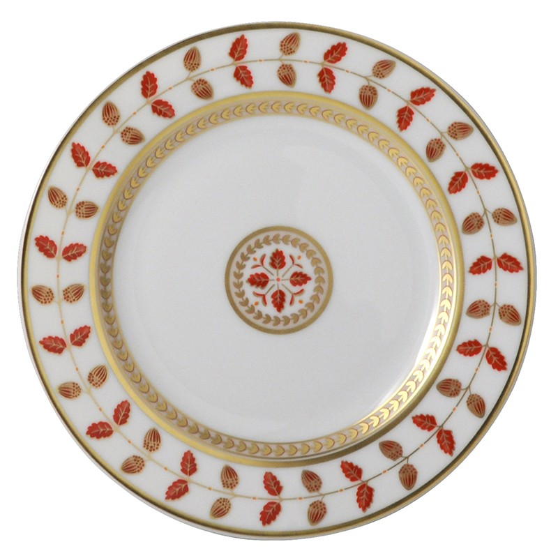 Bernardaud Constance Red Bread & Butter Plate - 6.3 In