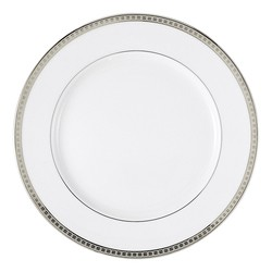 Bernardaud Athena Platinum Dinner Plate - 10.2 In