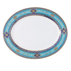 Bernardaud Grace Oval Platter - 15 In