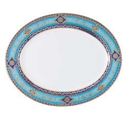 Bernardaud Grace Oval Platter - 13 In