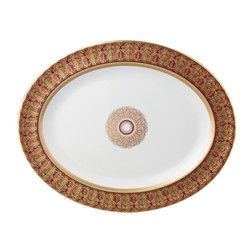Bernardaud Eventail Oval Platter - 13 In