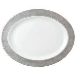 Bernardaud Sauvage Oval Platter - 15 In