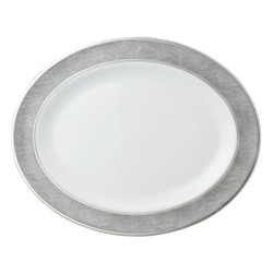 Bernardaud Sauvage Oval Platter - 13 In