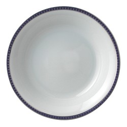 Bernardaud Athena Platinum Navy Open Vegetable Bowl