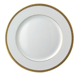 Bernardaud Athena Gold Dinner Plate - 10.2 In