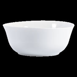 Bernardaud BULLE WHITE SALAD BOWL - 7.9 in