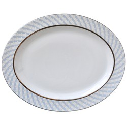 Bernardaud Paradise Oval Platter-15 In