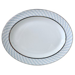 Bernardaud Paradise Oval Platter-13 In