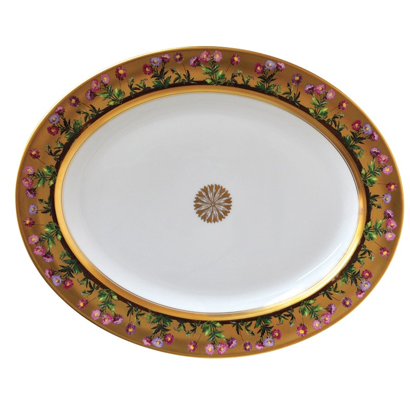 Bernardaud Heloise Oval Platter-13 In