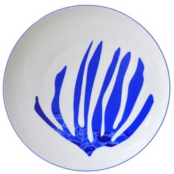 Bernardaud Rivage Set Of 4 Coupe Dinner Plates - 10.6 In