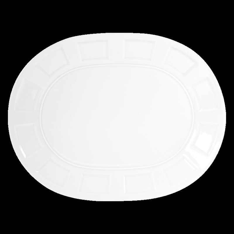 Bernardaud Naxos Oval Platter - 15 In