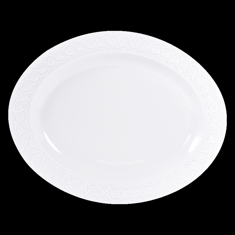 Bernardaud Louvre Oval Platter - 13 In