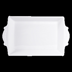Bernardaud Louvre Baker - Rectangular - 15.4 X 8.3 In