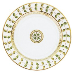 Bernardaud Constance Green Salad Plate - 8.3 In