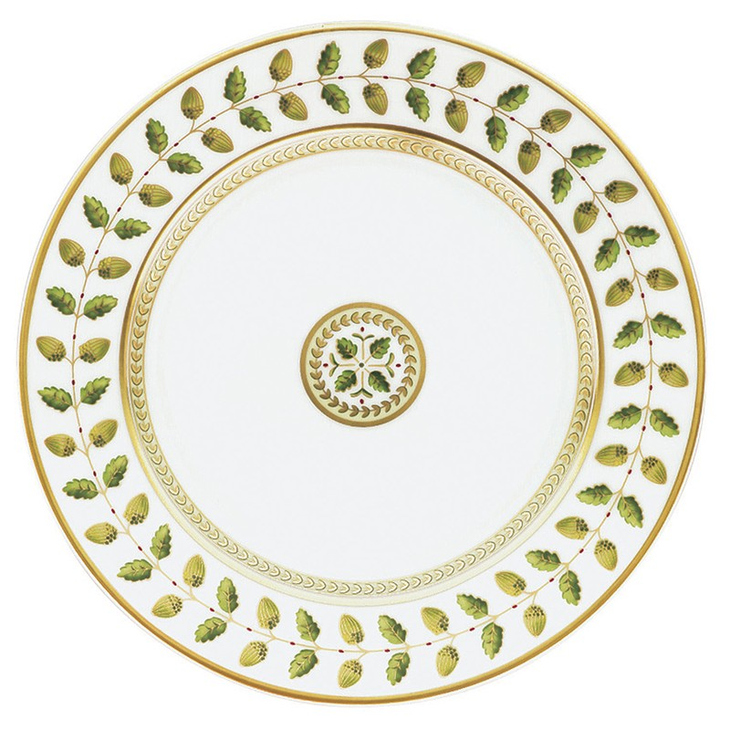 Bernardaud Constance Green Bread & Butter Plate - 6.3 In