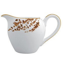 Bernardaud Vegetal Gold Creamer (Boule Shape)