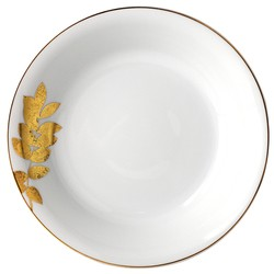 Bernardaud Vegetal Gold Open Vegetable Bowl