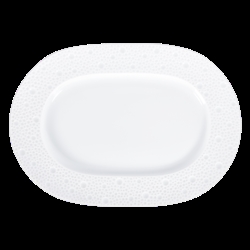 Bernardaud Ecume White Relish Dish