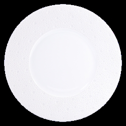 Bernardaud Ecume White Salad Plate - 8.3 In