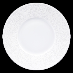 Bernardaud Ecume White Bread & Butter Plate - 6.3 In