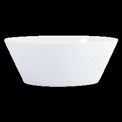 Bernardaud Ecume White Salad Bowl - 9.5 In