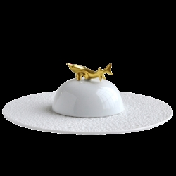 Bernardaud ECUME WHITE CAVIAR SET - ECUME WHITE