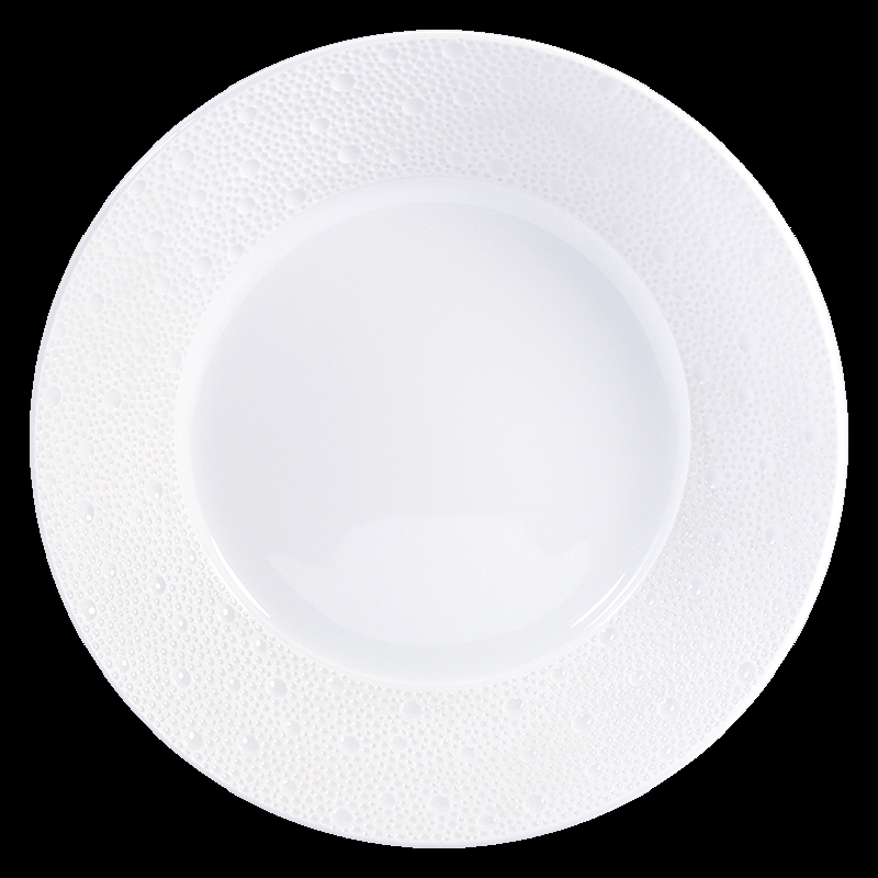 Bernardaud Ecume White Open Vegetable Bowl