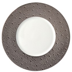 Bernardaud Ecume Platinum Salad Plate - 8.3 In