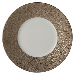 Bernardaud Ecume Platinum Bread & Butter Plate - 6.3 In