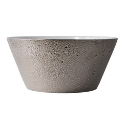 Bernardaud Ecume Platinum Salad Bowl - 11 In