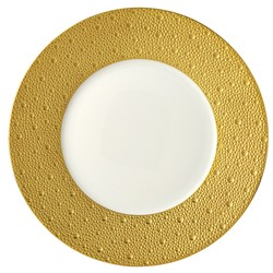 Bernardaud Ecume Gold Dinner Plate - 10.2 In