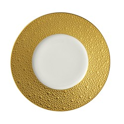 Bernardaud Ecume Gold Bread & Butter Plate - 6.3 In