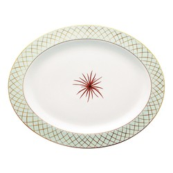 Bernardaud Etoiles Oval Platter - 15 In