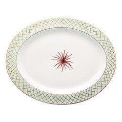 Bernardaud Etoiles Oval Platter - 13 In