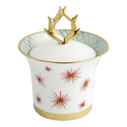 Bernardaud Etoiles Sugar Bowl - Covered Box