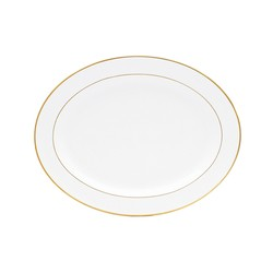 Bernardaud Palmyre Oval Platter - 13 In