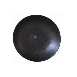 Bernardaud BULLE BLACK SAND BREAD & BUTTER PLATE-6.3in