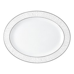 Bernardaud Dune Oval Platter - 13 In