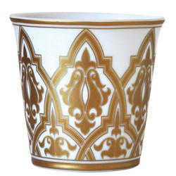 Bernardaud VENISE TUMBLER WITH SCENTED CANDLE