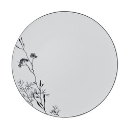 Bernardaud Promenade Coupe Dinner Plate - 10.2 In