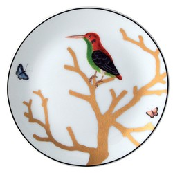 Bernardaud Aux Oiseaux Coupe Small Bread & Butter Plate - 5.5 In