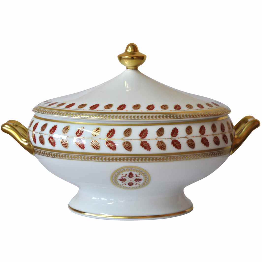 Bernardaud Constance Red Soup Tureen Sp Order